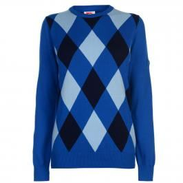Slazenger Argyle Sweater Ladies