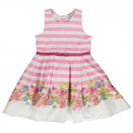 Crafted Border Dress Infant Girls