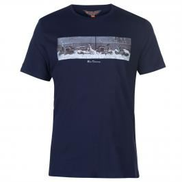 Ben Sherman Print Short Sleeve T Shirt Mens