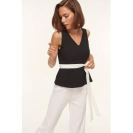 Trendyol Black Binding Detailed Blouses