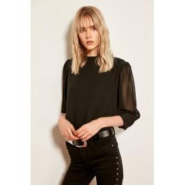 Trendyol Black Frill Detailed Blouses