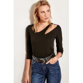 recenze Trendyol Black Knit Body Collar Detail a informace